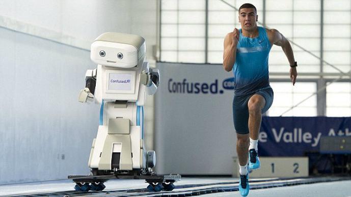 Brian, Robot, Adam Gemili