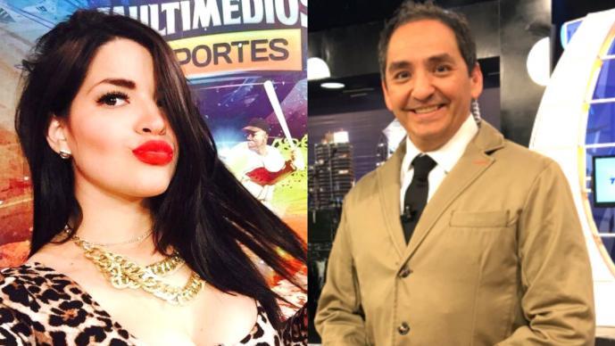 Bárbara Alejandro, Ernesto Chavana (Fotos: Twitter)
