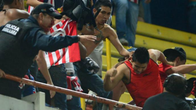 violencia, estadios