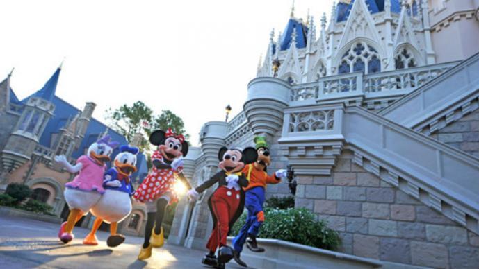 trabajadores de Disney World