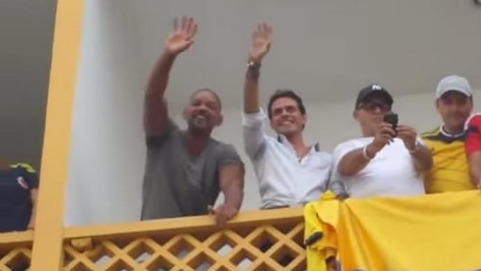 Will Smith y Mark Anthony
