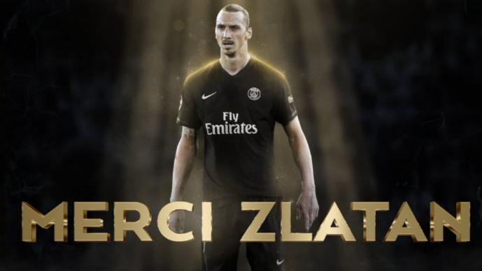 Zlatan Ibrahimovic (Foto: Twitter/@PSG_inside)