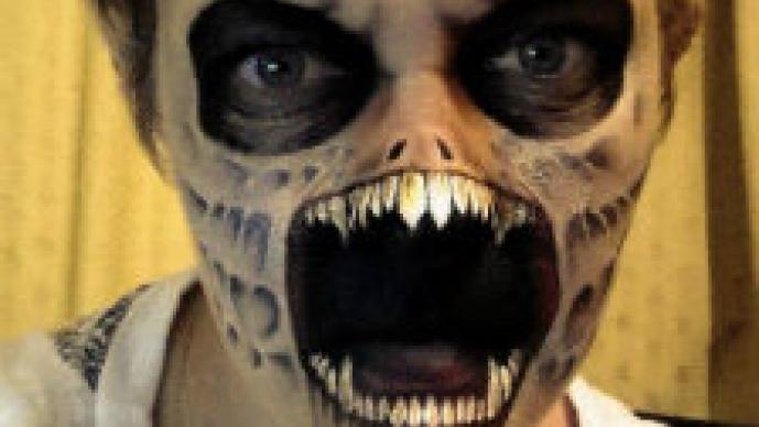 La maestra del maquillaje del terror