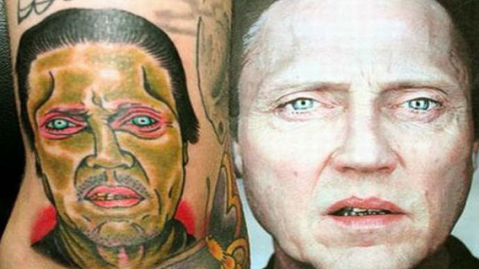 Peores tatuajes, retratos