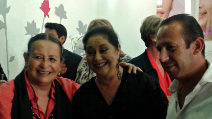 Angélica Aragón inaugura spa exclusivo en la Ciudad de México, Gisele Delorme  Beauty Bar & City Spa