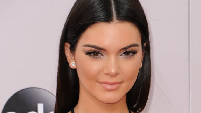 Kendall Jenner y su foto en cachetero
