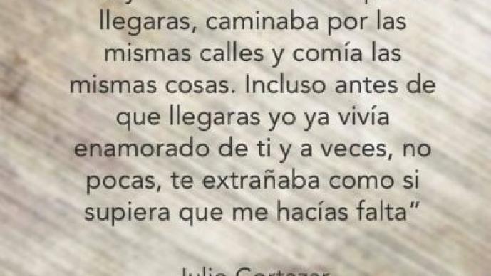 Frases de Julio Cortázar.
