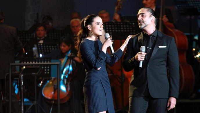 Camila Fernández, Alejandro Fernández, Grandes Temas de Telenovela, hija, Vicente Fernández, Potrillo, debuta, telenovela