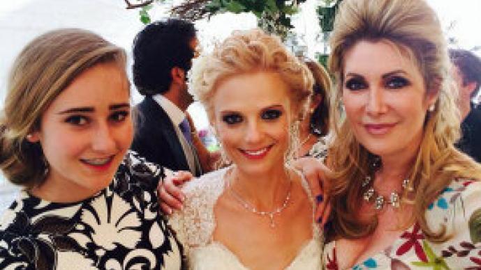 """Ana Layevska vive una boda de """"ensueño"""""""