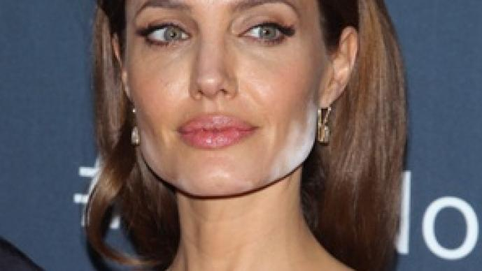 Angelina Jolie, Brad Pitt, polvo blanco, alfombra roja, The Normal Heart, serie, HBO, Maléfica