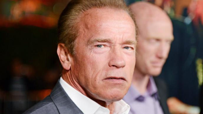Arnold Schwarzenegger le teme al gimnasio