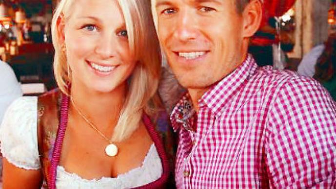 Bernadien Eillert, Arjen Robben, esposa, boda, Mundial, Brasil, 2014, México, Holanda, Robin van Persie, Petr Cech