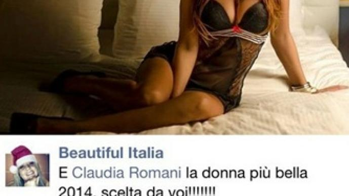 Claudia Romani, árbitro, Instagram, despide, año 2014