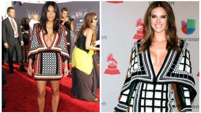 Kim Kardashian y Alessandra Ambrosio