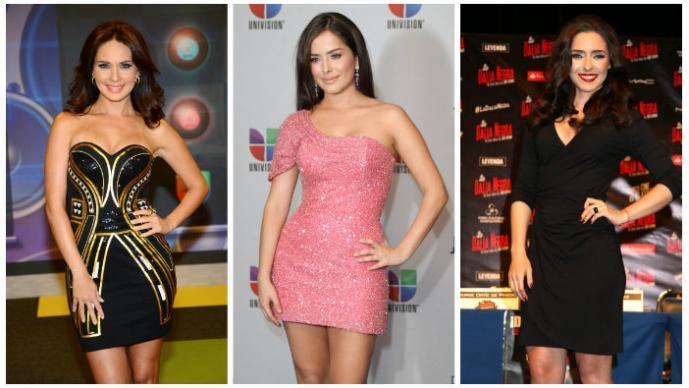 Adriana Louvier, Danna García, Ariadne Díaz