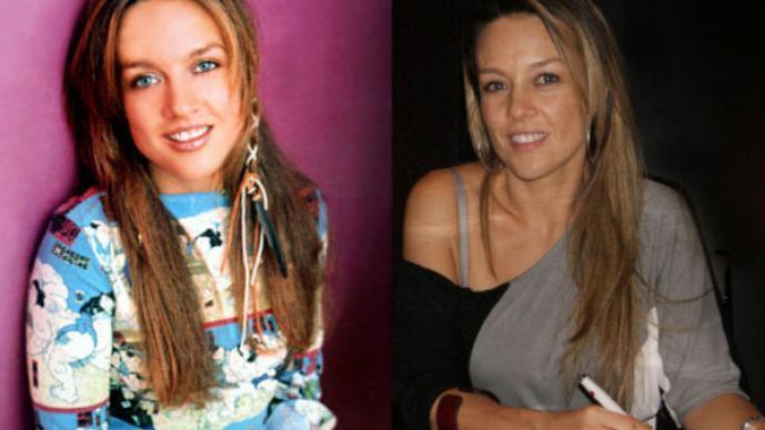 Fey, el antes y después