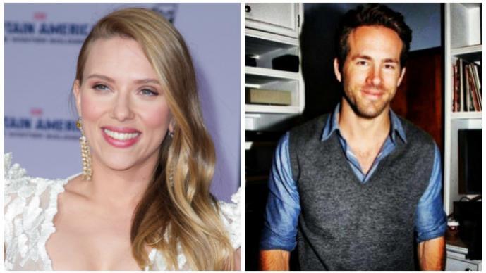 Scarlett Johansson y  Ryan Reynolds Foto: Photoamc/ Instagram