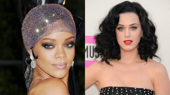 Rihanna vs Katy Perry, voces y curvas de infarto