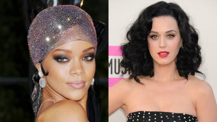 Rihanna vs Katy Perry, voces y curvas de infarto