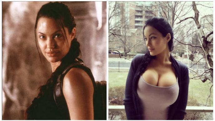 Angelina Jolie, Veronika Black