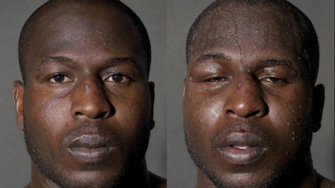 Boxeadores antes y después de la pelea| FOTOS