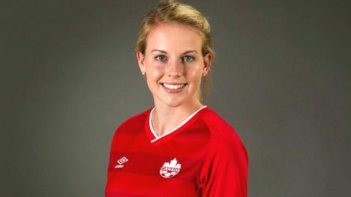 Emma Fletcher de la selección de Canadá.