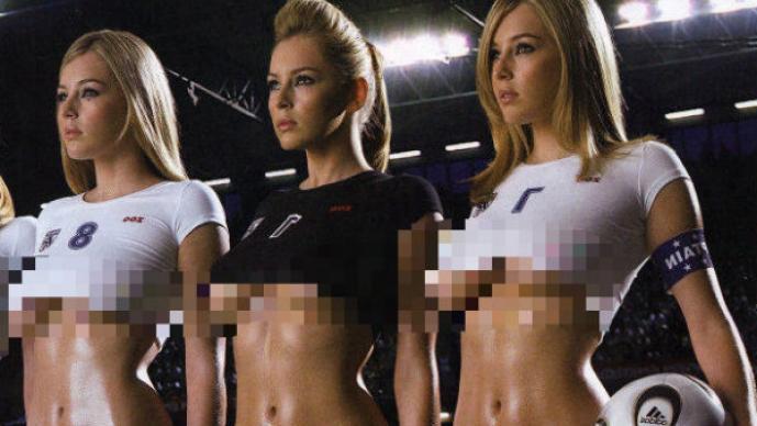 Equipo soccer bikini