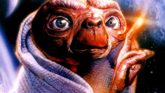 """El """"E.T."""" más terrorífico de Steven Spielberg"""