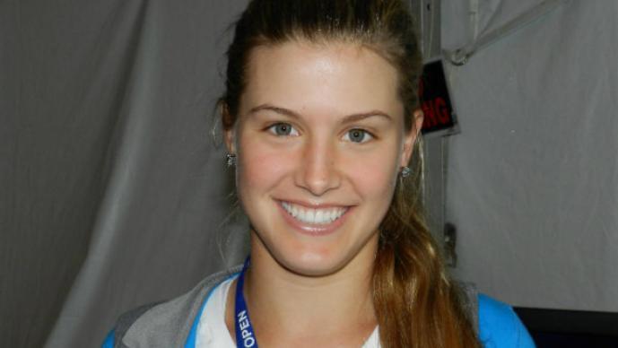 Eugenie Bouchard, la tenista más bella de Wimbledon