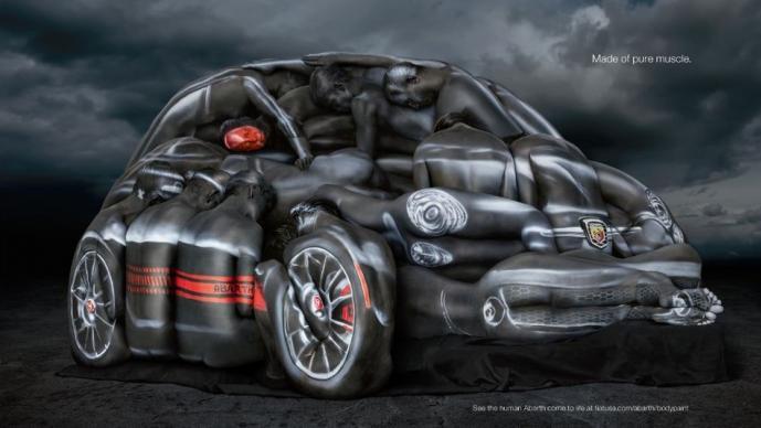 Fiat bodypaint