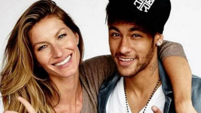 Gisele Bündchen y Neymar
