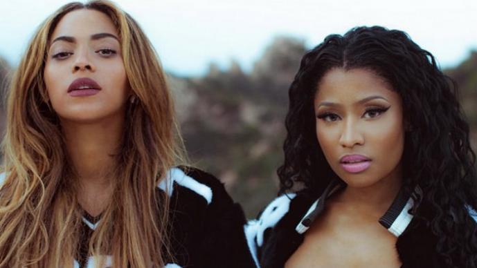 "Infartante ""twerking"" de Nicki y Beyoncé | VIDEO"