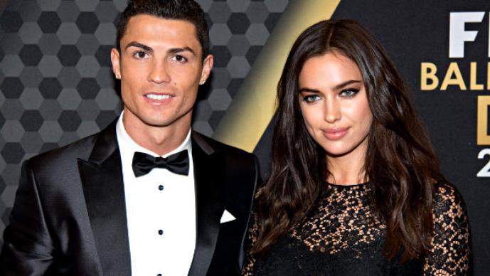 Irina Shayk y Cristiano Ronaldo posan desnudos
