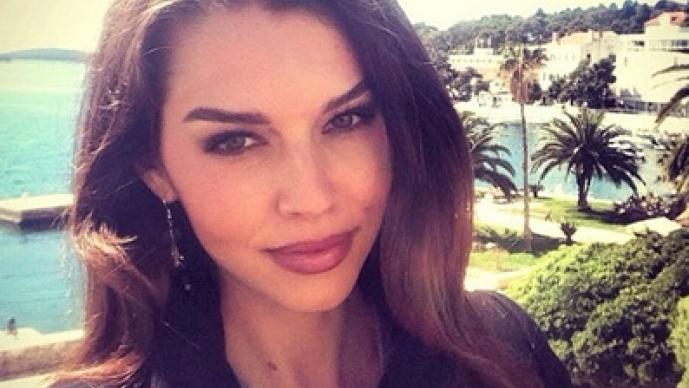 Iris Kavka, Irina Shayk, Cristiano Ronaldo, doble, parecida, eslovena, Instagram
