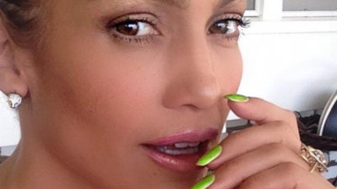 Jennifer Lopez y su lado más ardiente