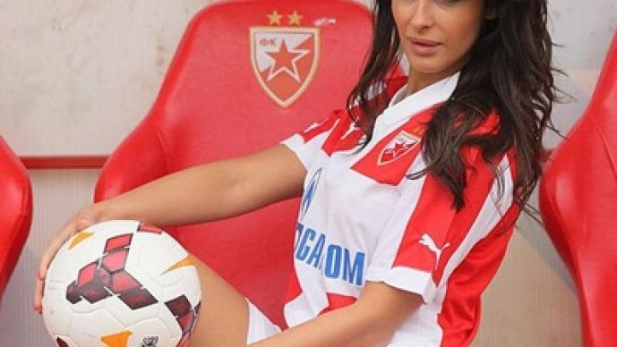 Katerina Sreckovic, Estrella Roja, Belgrado, bonita