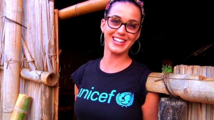 Visita de Katy Perry a Madagascar