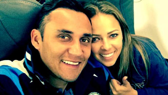 """Intentan """"seducir"""" a la esposa de Keylor Navas en Madrid"""