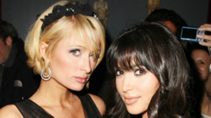 Paris Hilton y Kim Kardashian