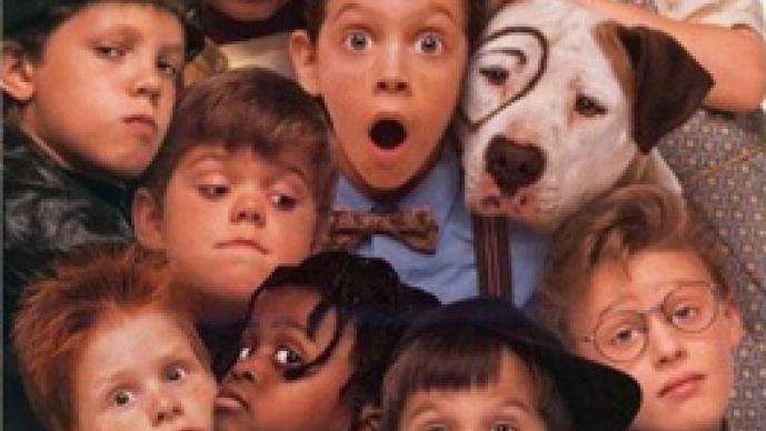 The Little Rascals, Los Pequeños Traviesos, reúnen, Spanky, Alfalfa, Bug Hall, Travis Tedford