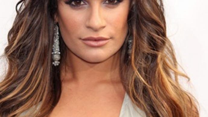 Lea Michele, Glee, sensual, lo más, escenas,