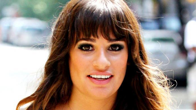 Lea Michele estrena romance con un gigoló