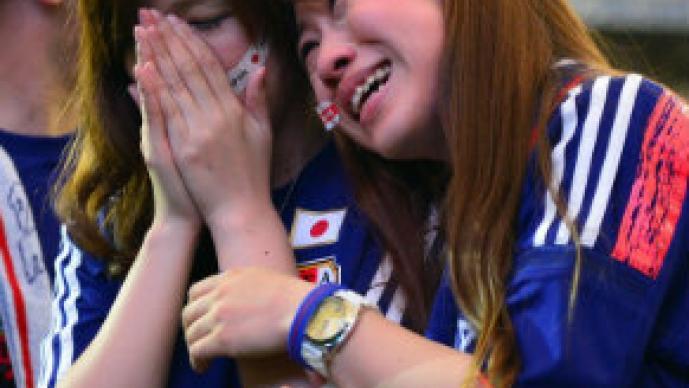 Aficionados tristes del Mundial