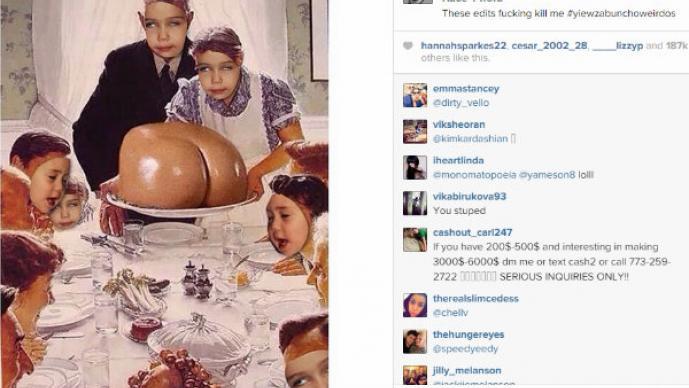 Miley Cyrus y los más ridículo en su Instagram