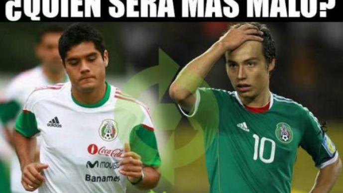 México 1-0 Bolivia.