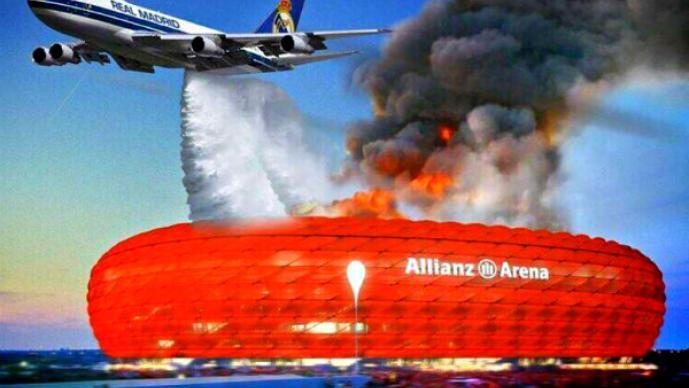 Los mejores memes de la derrota del Bayern contra el Real Madrid
