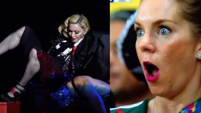 Los mejores memes de la caída de Madonna