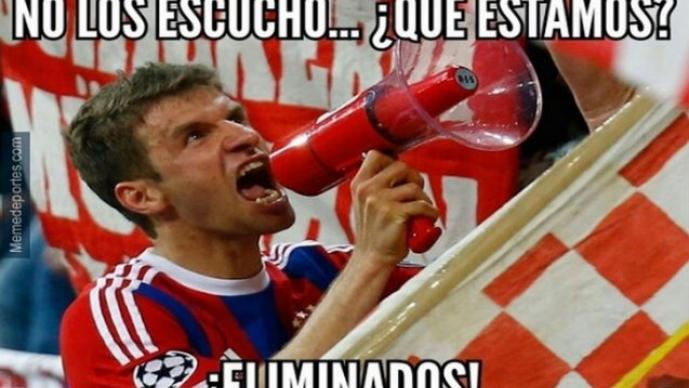 Memes Bayern Munich vs Barcelona