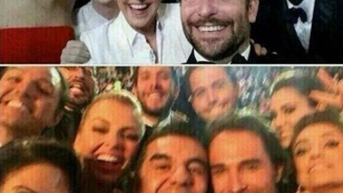 selfie, Adrián Uribe, Premios TVyNovelas, Ellen DeGeneres, Twitter, tendencia, retuiteada, Oscar