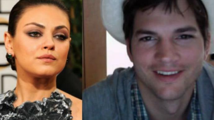 Mila Kunis, Ashton Kutcher, primeras imágenes, bebé, año nuevo, boda secreta, casarse, en secreto